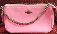 Coach polished dusty rose leather Wristlet Silver Spring, 20904