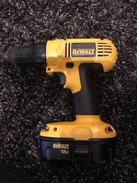 yellow and black DEWALT cordless power drill Vancouver, V5K 2A7