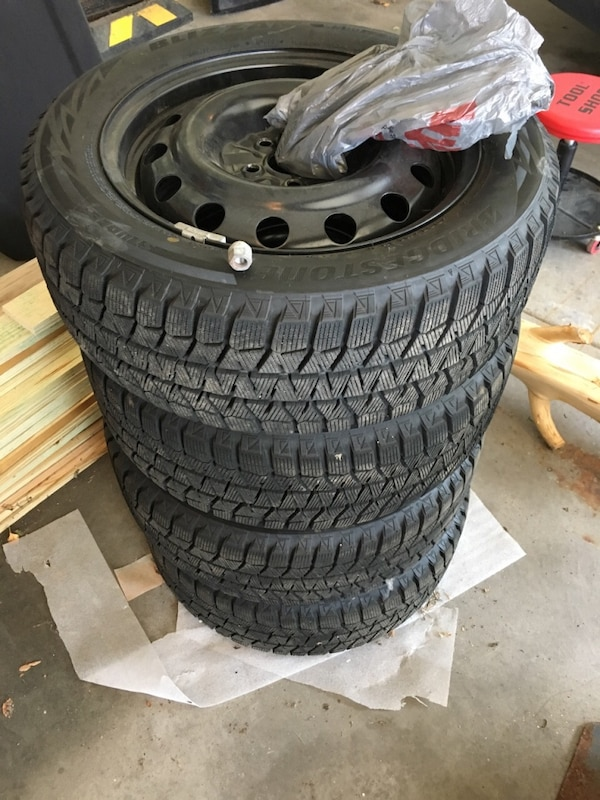 Used Tires Des Moines >> Used 205 55r16 Blizzak Snow Tires Wheels For Sale In Des Moines