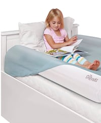 Shrunks Inflatable Kids Bed Rails. Safety Side Bumpers for Toddlers or Adult Beds Great for Travel. Have your Children Sleep Safe and Comfortable. (2 Pack) Fontana, 92336