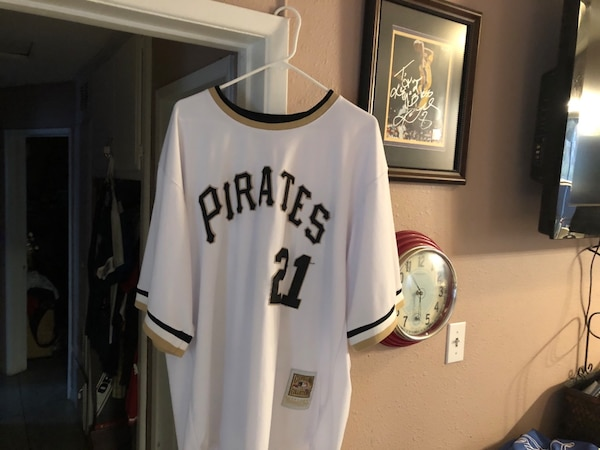 4ea7e97f018c Used white and black Pittsburgh Pirates 21 jersey for sale in Jurupa ...