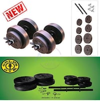 40-Pound Dumbbells set Laval, H7T 3C1