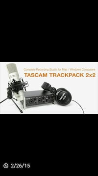 Tascam trackpack 2x2 Anaheim, 92805