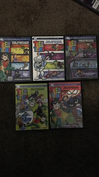 Complete Teen Titans DVD collection  San Diego, 92154