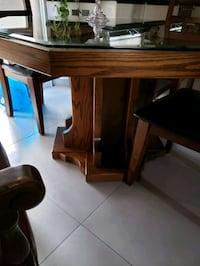 Custom Oak Octagon Table (chairs seperate cost) Mississauga, L5H 3S6