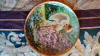 Little Angel Girl Collectors Plate