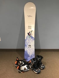 Alan Aurora 45 snowboard , size 7 boots and bindings  Brampton, L7A 2T1