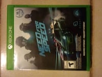 Xbox One Need for Speed game case Los Angeles, 90003