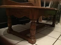 Solid Wood Coffee Table for sale. Alexandria