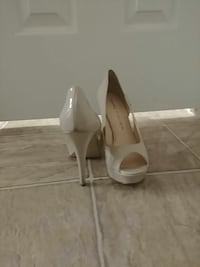 white patent leather Marc Fisher peep-toe heels Hagerstown, 21742