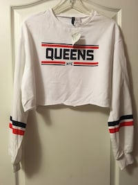 BRAND NEW H&M Cropped Long Sleeve Top - M Mississauga, L5M 4Z5