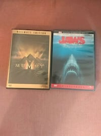 Jaws and The Mummy Collector's Editions Oshawa, L1J 5H9