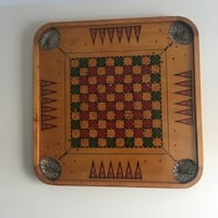 Antique game boards two sided Palatine, 60067