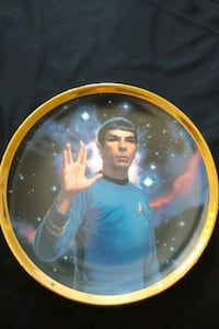 Star Trek TOS Spock collector plate Mississauga, L4Z 1W3