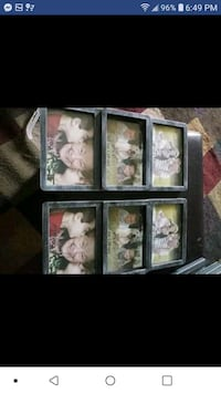 6 pic, picture frame