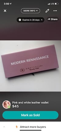 Abh modern renisance palette very good conditions