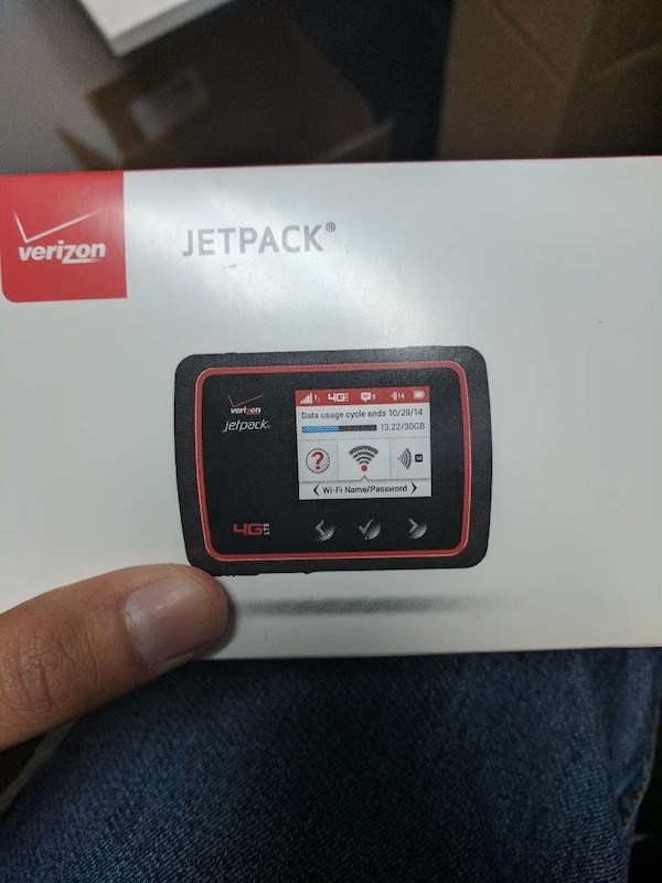 Verizon Jet pack