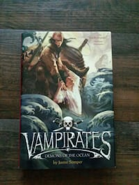 Vampirates Demons of the Ocean book by Justin Somper