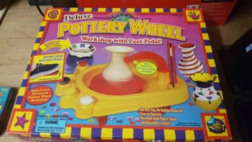 Deluxe Pottery wheel workshop pedal