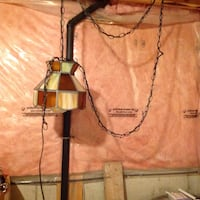 Hanging Tiffany lamp with switch Milton, L9T 5T5