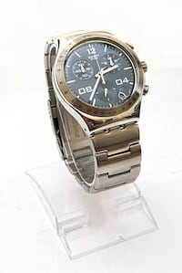 SWATCH IRONY CHRONOGRAPH-SAPPHIRE BLUE DIAL-40MM-GREAT CONDITION New York, 11209
