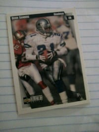 NFL LEGEND CONERBACK DEION PRIMETIME SANDERS Washington