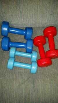 HANDHELD BARBELLS  $25 for all  McMinnville, 37110