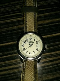 I have a men's Timex expedition with a leather ban Albuquerque, 87123