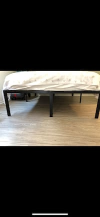 MOVE OUT SALE. Queen bed frame Santa Monica, 90401