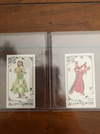 Topps Allen Ginter bust a move mini cards  Derwood, 20855
