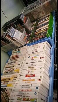 Multiple platform video games for sale from nintendo wii  Xbox