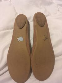 Pair of brown leather flats Anderson, 29621