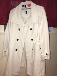 white button-up coat Toronto, M9N 2M7
