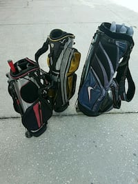 two black and gray golf bags Pine Castle, 32809