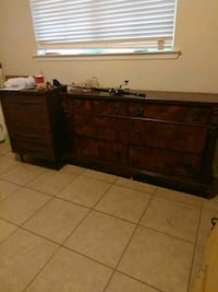 brown wooden 3-drawer chest New Orleans, 70122