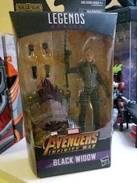 Marvel legends black widow  Cliffside Park, 07010