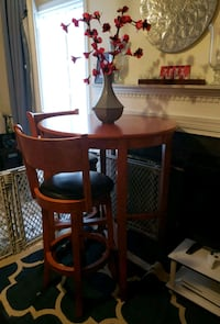 Pub Table and 2 bar chairs Stafford, 22556