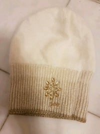 Womens white/cream toque