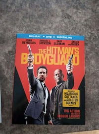 Blu Ray Movie The Hitman's Bodyguard $2.00