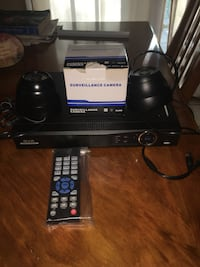 Surveillance camera with remotes . Brand new Out of business deal Prairieville, 70769