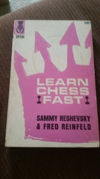 Learn Chess Fast by Sammy Reshevsky and Fred Reimnfeild 1947 game  Falls Church