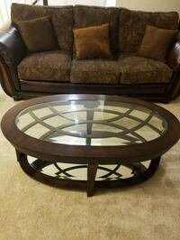 Oval glass top coffee Table Frederick, 21703