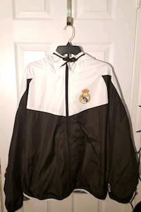 Real Madrid Windbreaker Jacket Official Size Small and XL Manassas, 20109