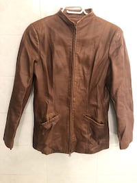 Danier Women's Leather Jacket Size Extra Small Made In Canada Toronto, M8V