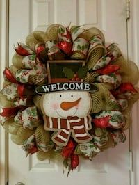 Snowman face wreath  Burleson, 76028
