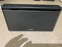 Bose Soundlink Bluetooth Speaker.