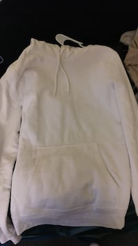 white pullover hoodie from h&m
