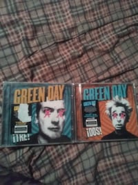 Green day CD's Regina