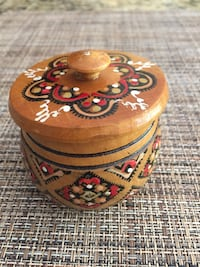 Ukrainian Wooden Box Clayton, 27520