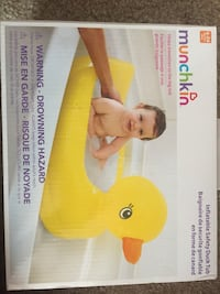 New kids bath tub- munchkin inflatable duck tub Sterling Heights, 48310